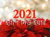নিউ ইয়ার ২০২১ : নতুন বছরে নতুন ভাবে বাঁচুন, করুন নতুন প্রতিজ্ঞা