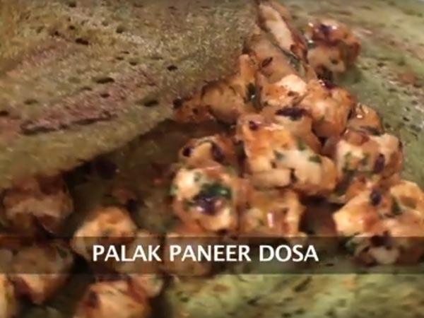 সুস্বাদু পালক পনির ধোসা বানানোর রেসিপি