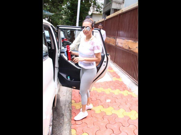 Spotted Malaika Arora Soaring Up Temperatures With Her Yoga
