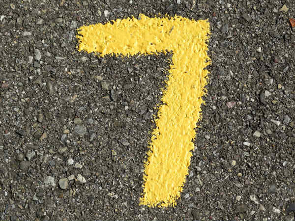 Here Is Why Number 7 Is Lucky For All
