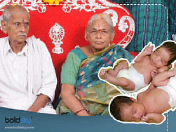 74 Year Old Woman Gives Birth To Twins Through Ivf