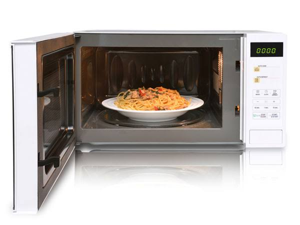 is cooking in microwave oven bad for health
