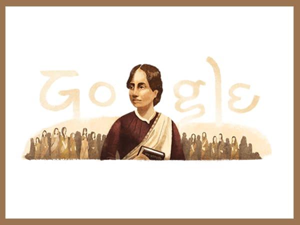 গুগল ডুডল উদযাপন করল বাঙালী কবি ও নারীবাদী কামিনী রায়ের ১৫৫ তম জন্মবার্ষিকী