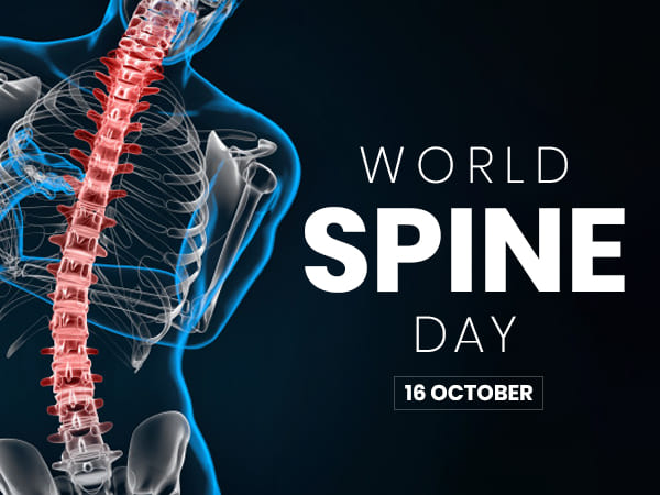 World Spine Day 2019 Date Theme And History