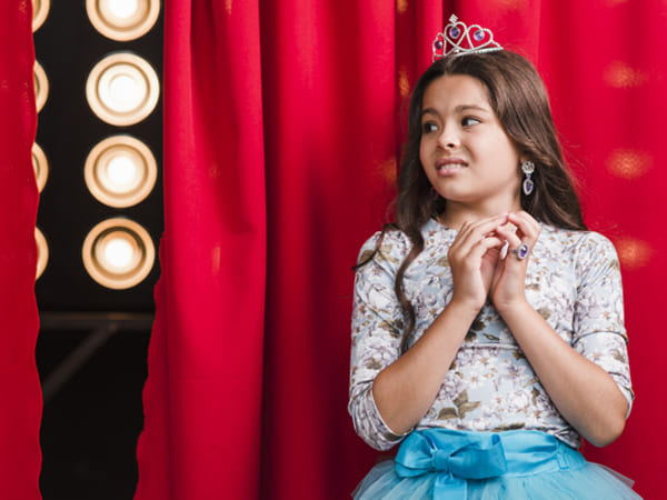 how to overcome stage fright in children