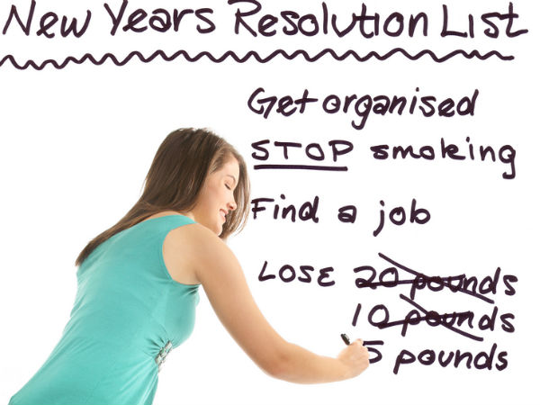 Health Resolutions For New Year