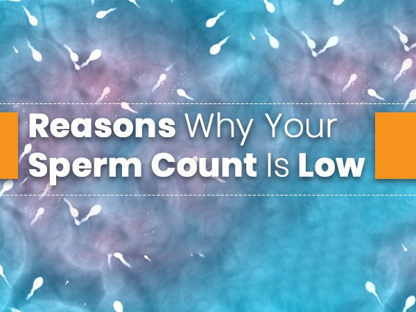 Reasons That Cause Low Sperm Count