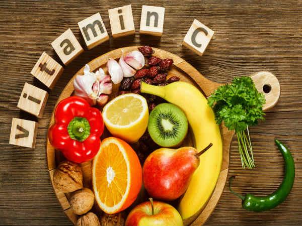 ১) ভিটামিন সি যুক্ত খাবার