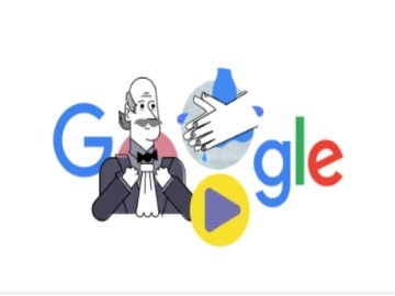Google Doodle Honours Ignaz Semmelweis Who Proposed Importance Of Washing Hands