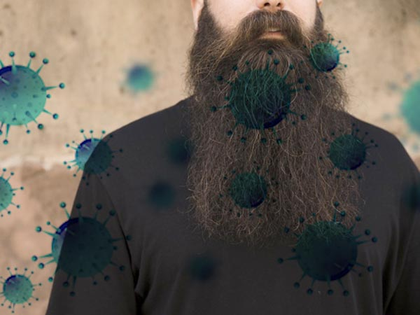 Is Your Beard Putting You At Risk Of Coronavirus?