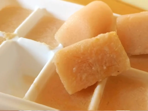 Potato Ice Cubes For Glowing Skin