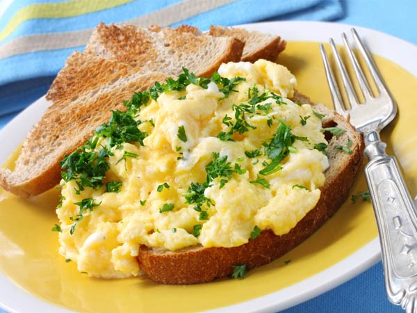 Yummy Cheese Egg Toast Recipe For Breakfast
