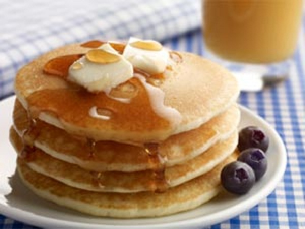 Homemade Eggless Pancake Recipe