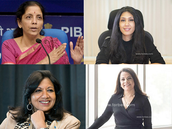 Indian Women Who Made It To Forbes List Of World S Most Powerful Women 2020