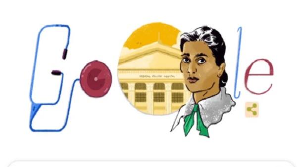 Google Doodle Celebrates Kadambini Ganguly On Her 160th Birth Anniversary