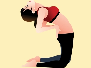 Five Yoga Poses Reduce Stress