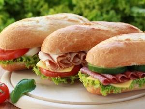 Chicken Salami Sandwich Recipe