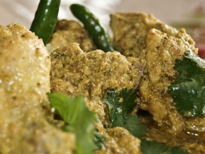 Durga Pujo Special Dhania Posto Chicken