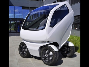Car Shrinks And Expands To Your Mega City Needs