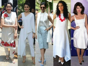Pic To Avoid Scorching Heat Bollywood Celeb Chooses White Clothes