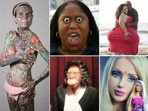 Twelve Freaky Women In The World That Exist