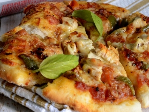 Herb Grilled Chicken Pizza Recipe