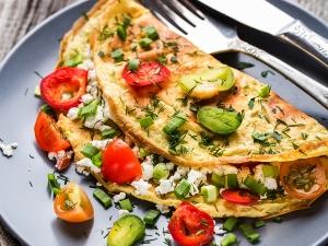 Easy Chicken Omelette Recipe For Breakfast