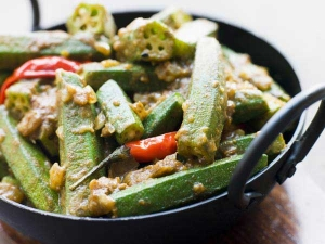 Kadai Bhindi Masala Recipe