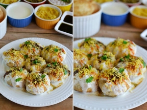 Evening Snack Recipe Dahi Puri