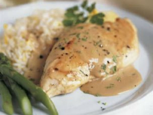Tea Poached Chicken With A Creamy Malai Chai Sauce Recipe
