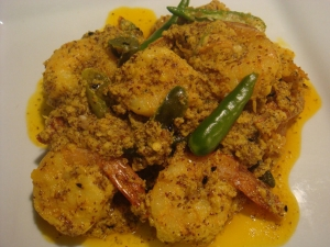 Narkele Chingrir Bati Chachchari Old Bengali Recipes