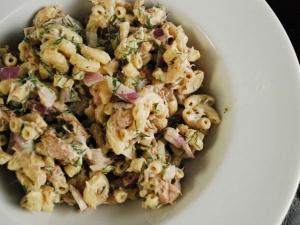 Cold Tuna Macaroni Salad