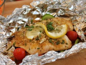 Foil Pocket Baked Fish Recipe