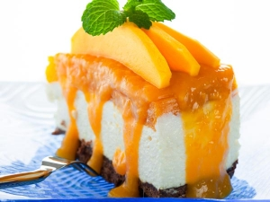 Eggless Mango Cake With Mango Sauce Recipe