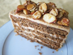 Chocolate Coffee Biscuit Cake Recipe