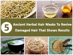 Ancient Herbal Hair Masks Revive Damaged Hair That Shows