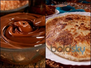 Kids Favourite Chocolate Paratha Recipe
