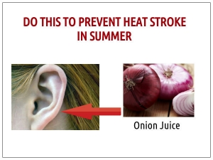 Prevent Heat Exhaustion And Heat Stroke
