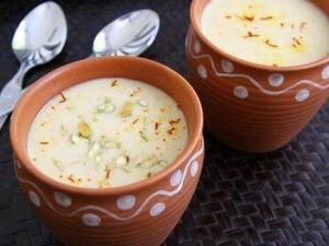 Mango Rabri Recipe For Fathers Day