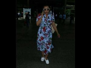 Repeating Trend At Airport Kajol Florals