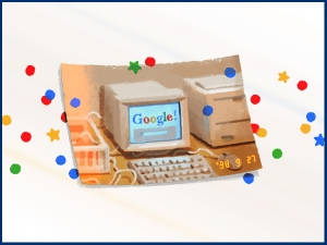 Happy Birthday Google Google Celebrates Its 21st Birthday With A Doodle