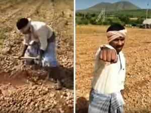 Karnataka Farmer Singing To Justin Biebers Song