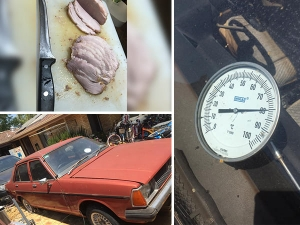 Australia Man Cooks Roast Pork In Car During Heat Wave