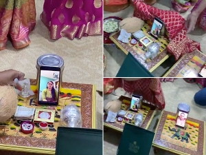 Viral Video Of Couple Engaged In Online Through Video Call
