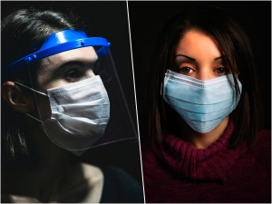 Face Mask Or Face Shield To Combat Covid
