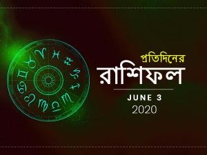 Daily Horoscope For 3 June