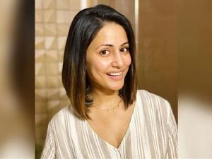 Hina Khan Share Her New Haircut Look