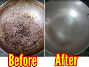 How To Clean Burnt Aluminium Pans