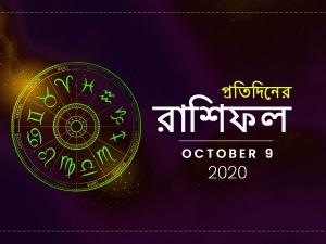 Daily Horoscope For 9 October