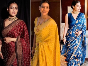 Traditional Dress Tips These Ethnic Outfit Of Bollywood Diva Kajol Perfect For Durga Puja